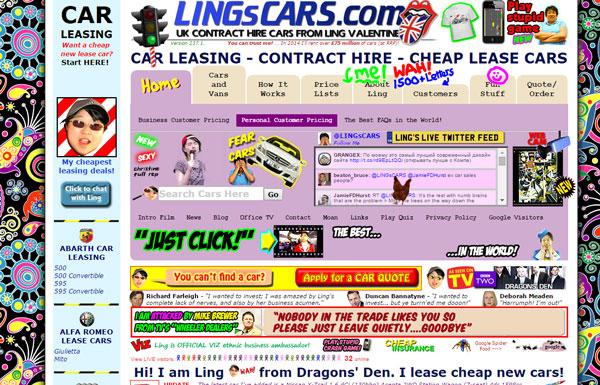website advertenties