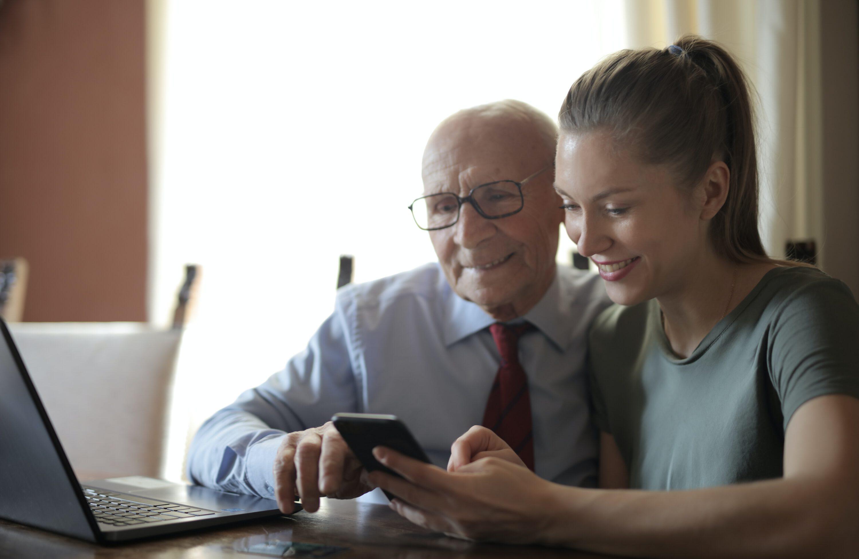 Computer hulp voor ouderen